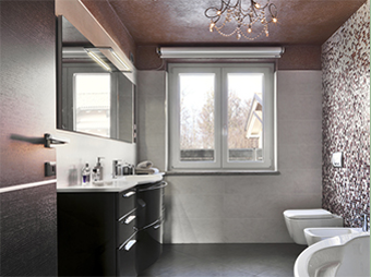 Darker Colour Bathrooms