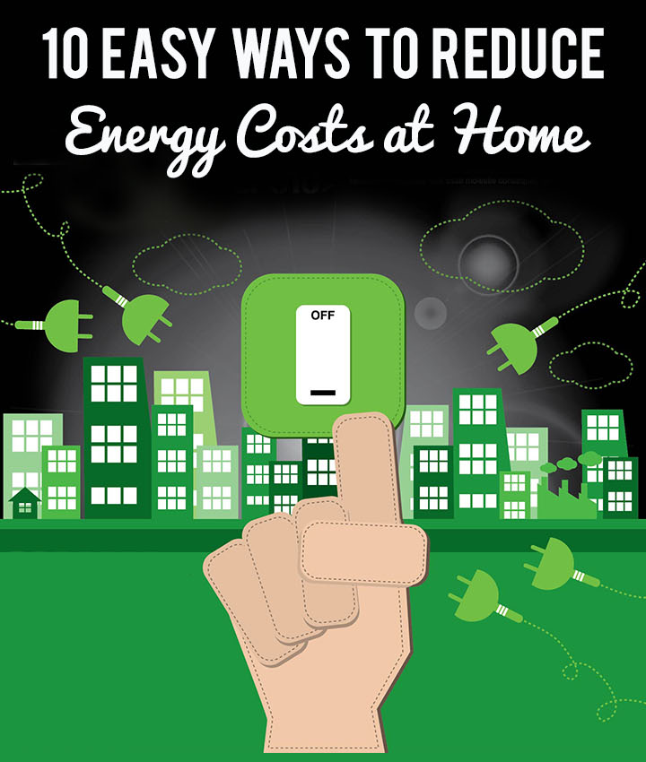 10 Easy Ways To Reduce Energy Costs At Home | Yourelectrics.com